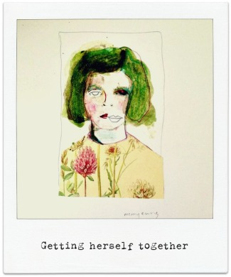 getting herself together polarois