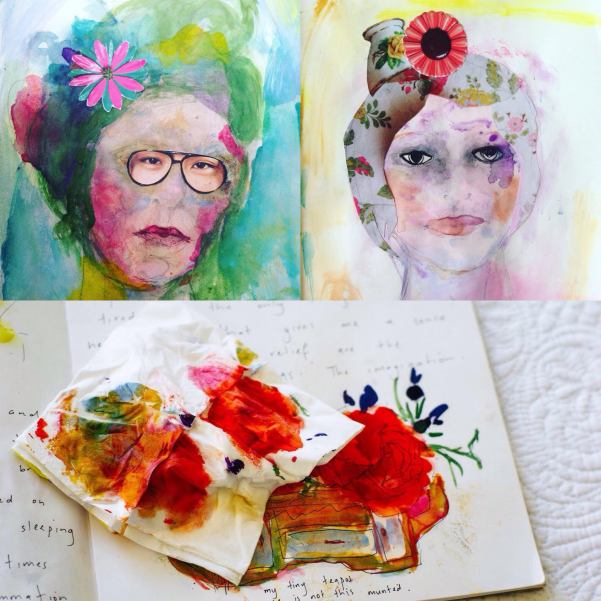 collage diary